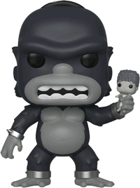 The Simpsons - Homer (As Kong) Pop! Vinyl Figure image