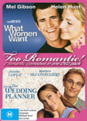 Too Romantic! - What Women Want / Wedding Planner (2 Disc Set) on DVD