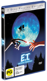E.T. - The Extra-Terrestrial: Special Edition (2 Disc Set) on DVD image