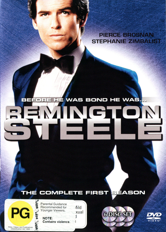 Remington Steele - Season 1 (6 Disc Set) on DVD
