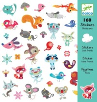Djeco Design Small Friends Stickers