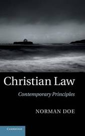 Christian Law by Norman Doe