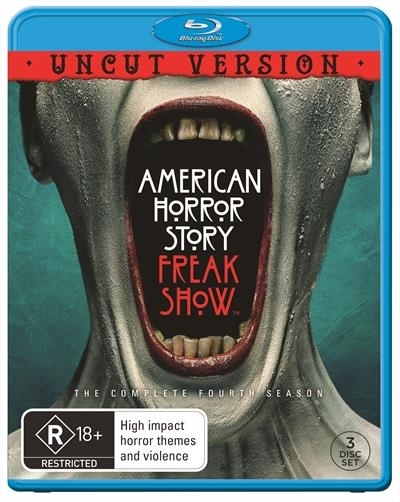 American Horror Story: Freak Show - The Complete Fourth Season on Blu-ray image