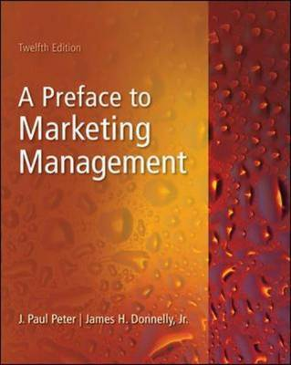 Preface to Marketing Management by J.Paul Peter image