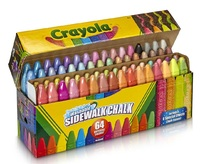 Crayola: Sidewalk Chalk Collection (64-Pack)