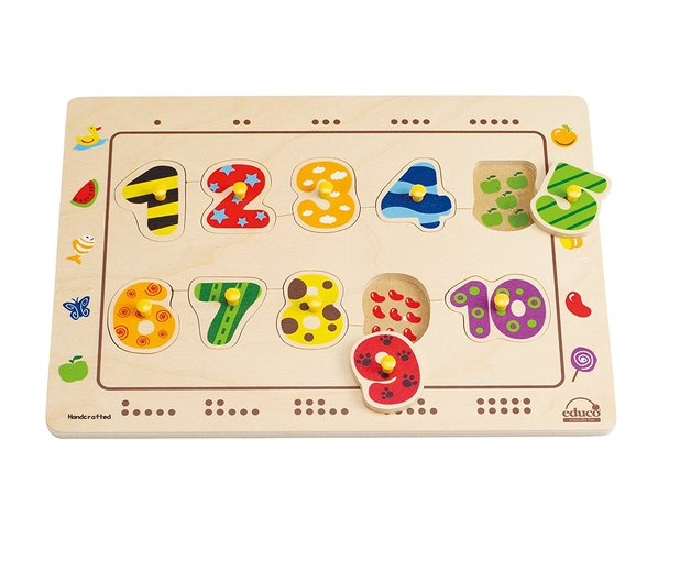 Hape: Numbers Matching Puzzle