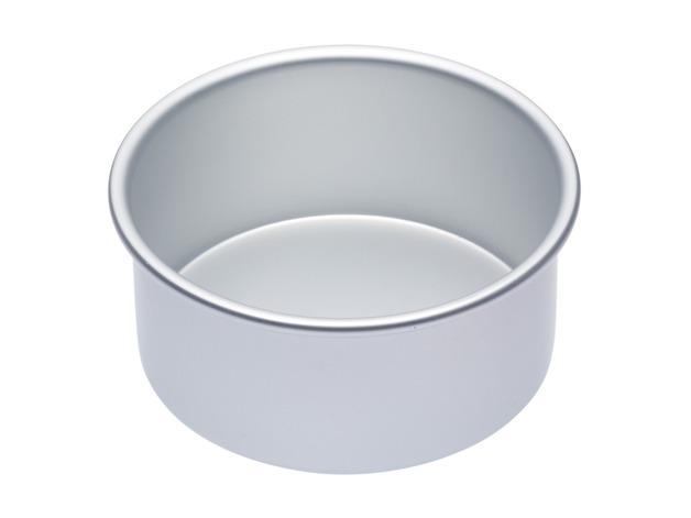 MasterClass: Silver Anodised Round Deep Cake Pan (15cm)
