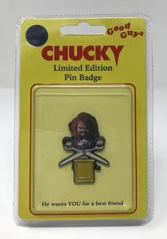 Child's Play: Large Pin Badge - Chucky image