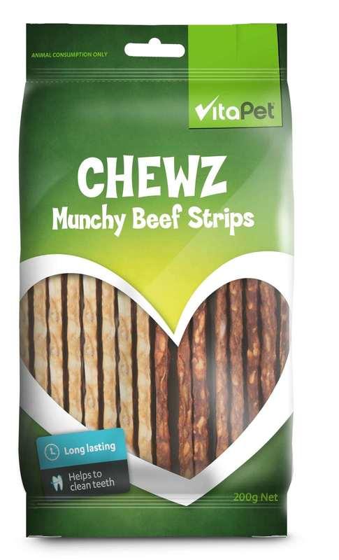 Vitapet: Chewz Munchy Strips (200g)