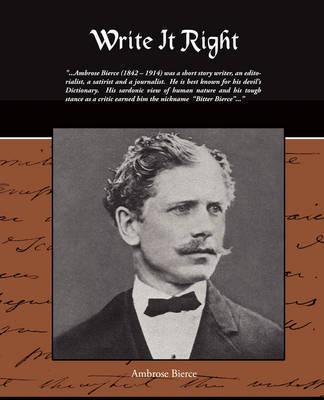 Write It Right by Ambrose Bierce image