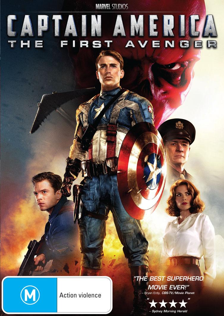 Captain America - The First Avenger on DVD image