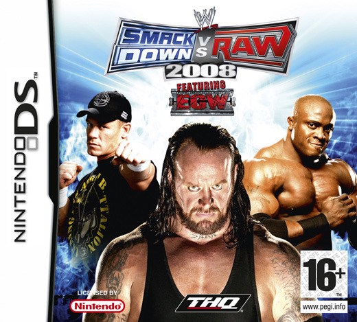 WWE Smackdown! vs. RAW 2008 for Nintendo DS
