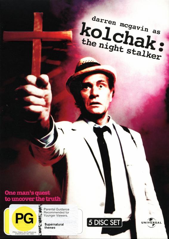 Kolchak: The Night Stalker (5 Disc Set) on DVD