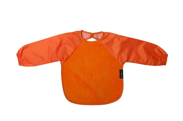 Mum 2 Mum Sleeved Wonder Bib (6-18 Months) - Orange