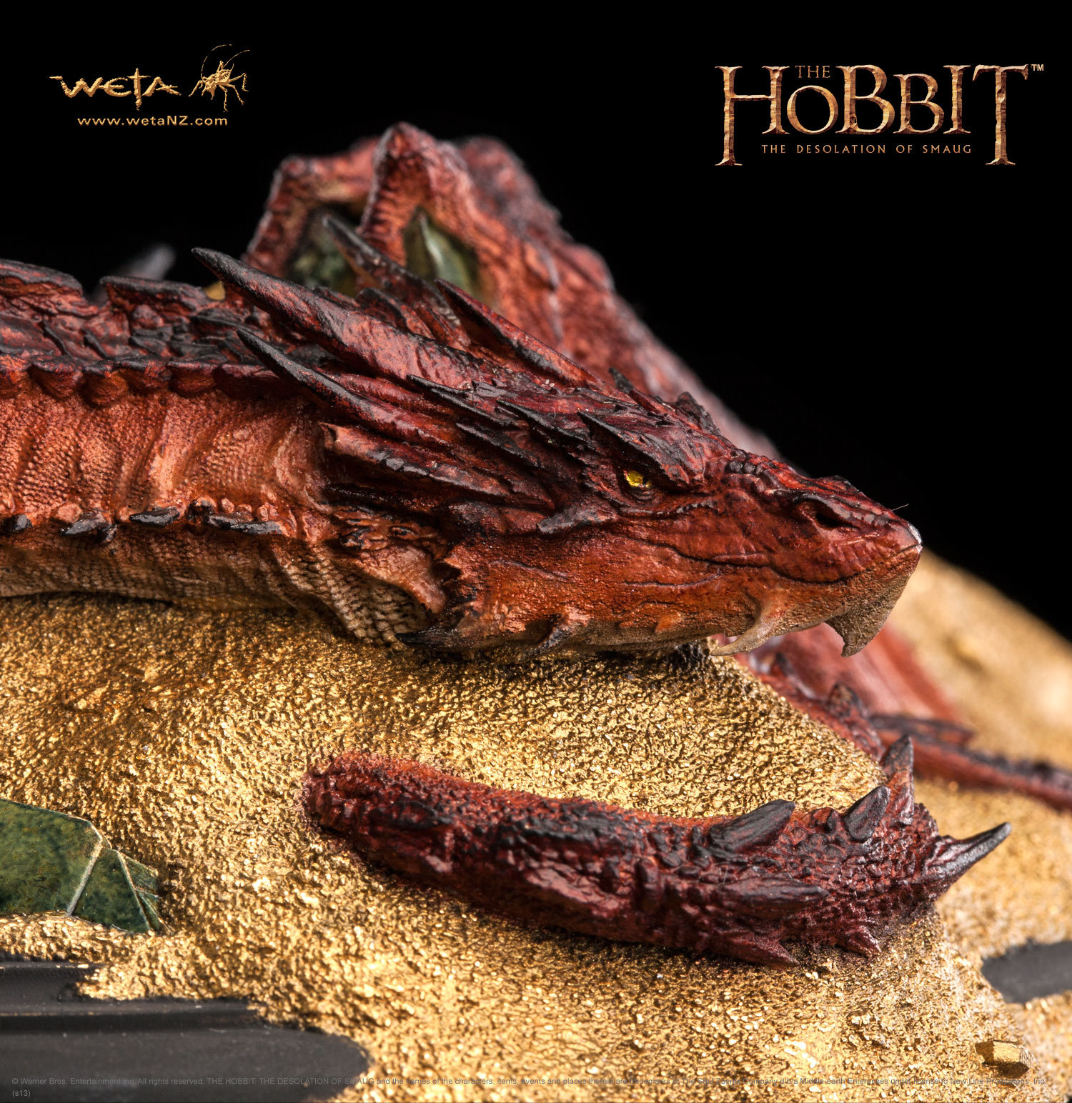 The Hobbit: The Desolation Of Smaug - Smaug - King Under The Mountain image