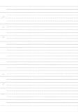 Filofax - Clipbook Ruled Notepaper Refill - White
