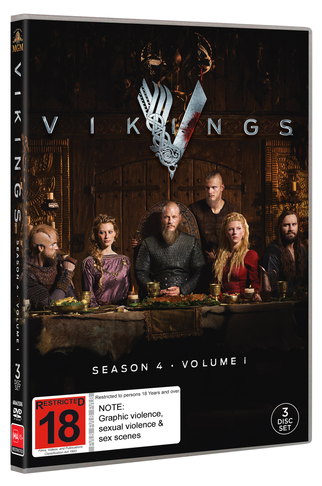 Vikings: Season 4 - Volume 1 on DVD image