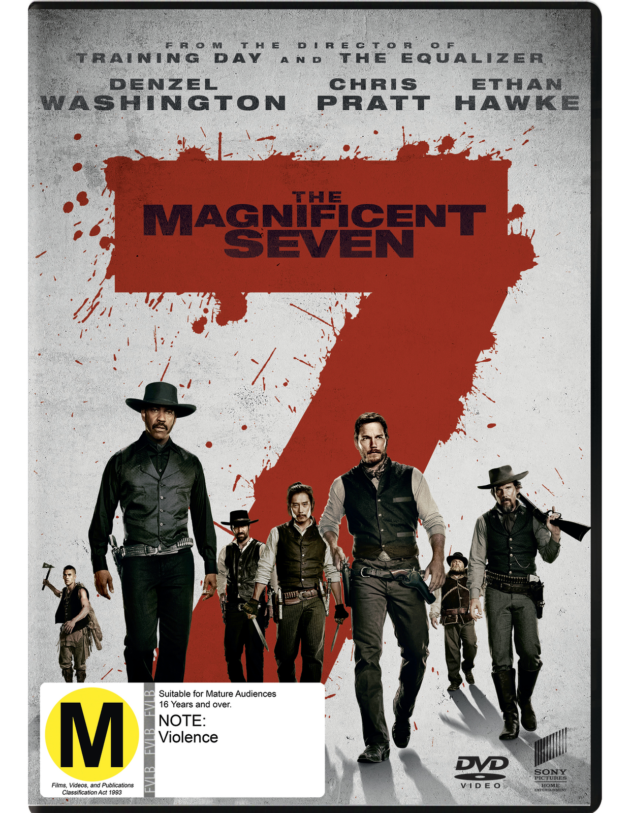 The Magnificent Seven on DVD image