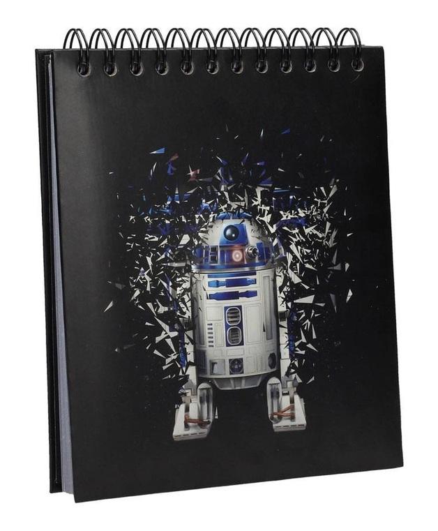 Star Wars: A5 Light & Sound Notepad - R2-D2