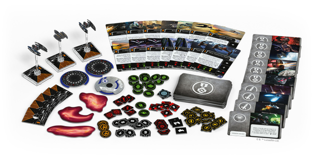 Star Wars X-Wing Second Edition Servants of Strife Squadron Pack