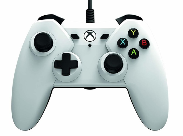 Xbox One Official Licensed Wired Controller - White for Xbox One