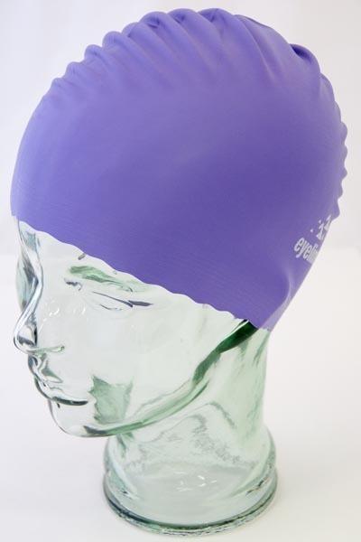 Eyeline Latex Swimcap - Purple