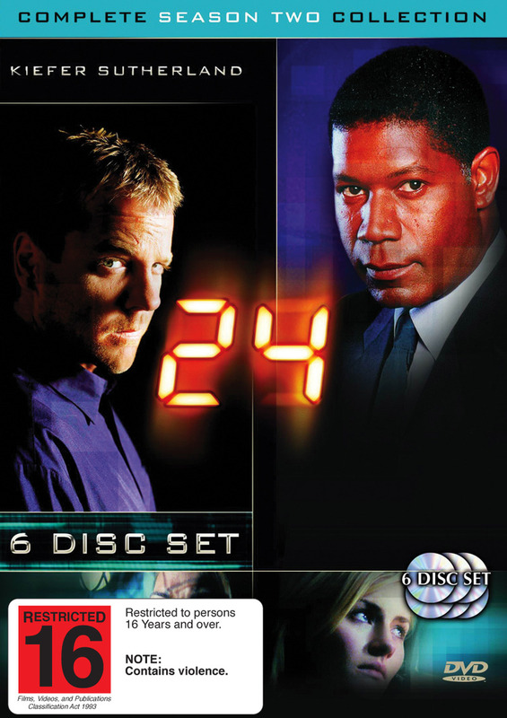24 - Complete Season 2 Collection on DVD