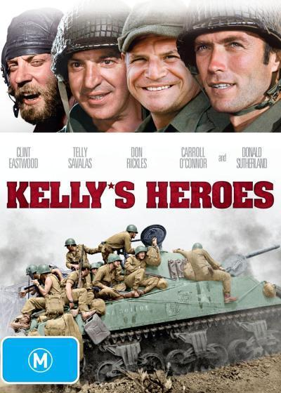 Kelly's Heroes on DVD