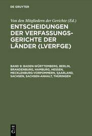 Baden-Wurttemberg, Berlin, Brandenburg, Hamburg, Hessen, Mecklenburg-Vorpommern, Saarland, Sachsen, Sachsen-Anhalt, Thuringen: 1.7. Bis 31.12.1998
