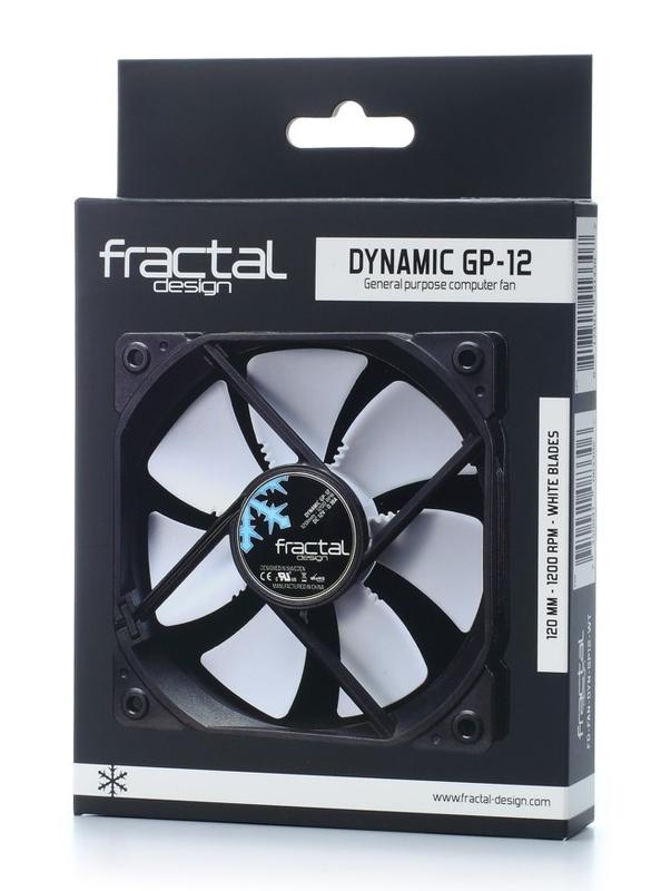 Fractal Design: Dynamic Series GP-12 Case Fan (120mm) - White