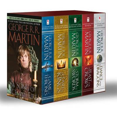 A Game of Thrones Box Set (All 5 Books) (US Ed.) by George R.R. Martin