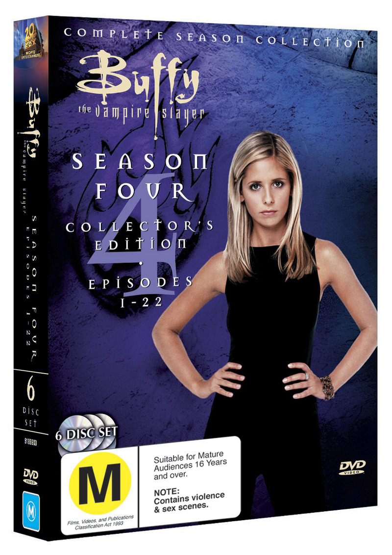 Buffy - The Vampire Slayer: Season 4 (6 Disc Set) on DVD image