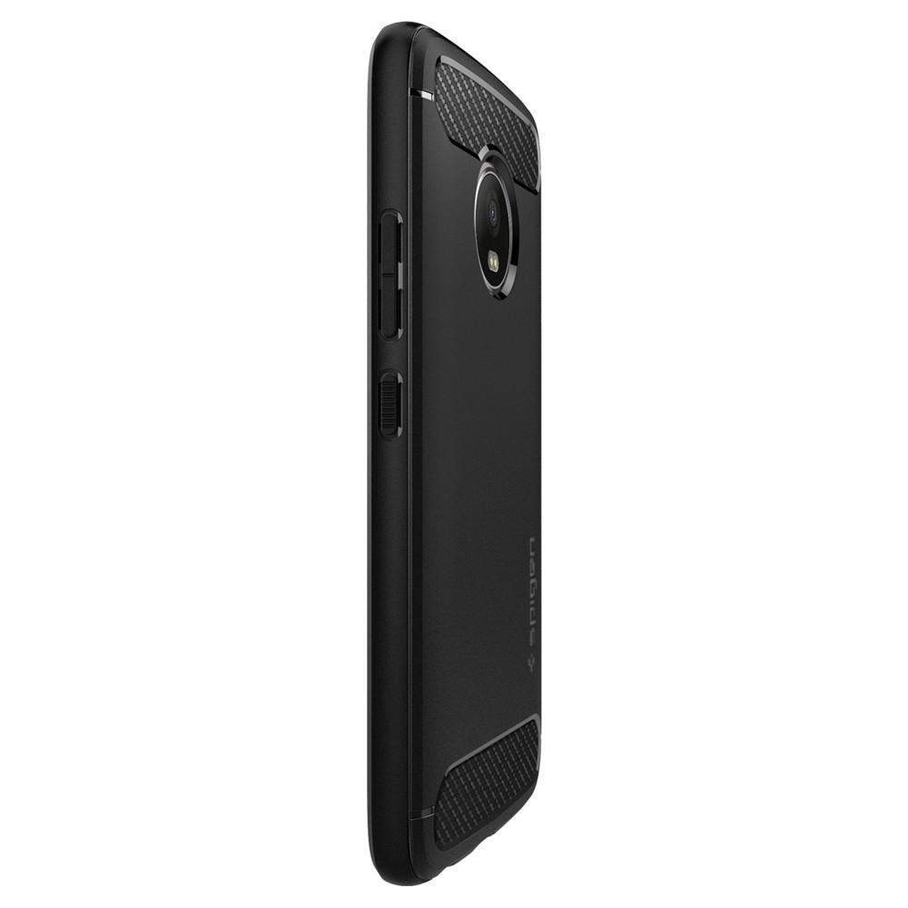 new concept ab502 af3e8 Spigen: Motorola Moto G5 Plus - Rugged Armour Case (Black)