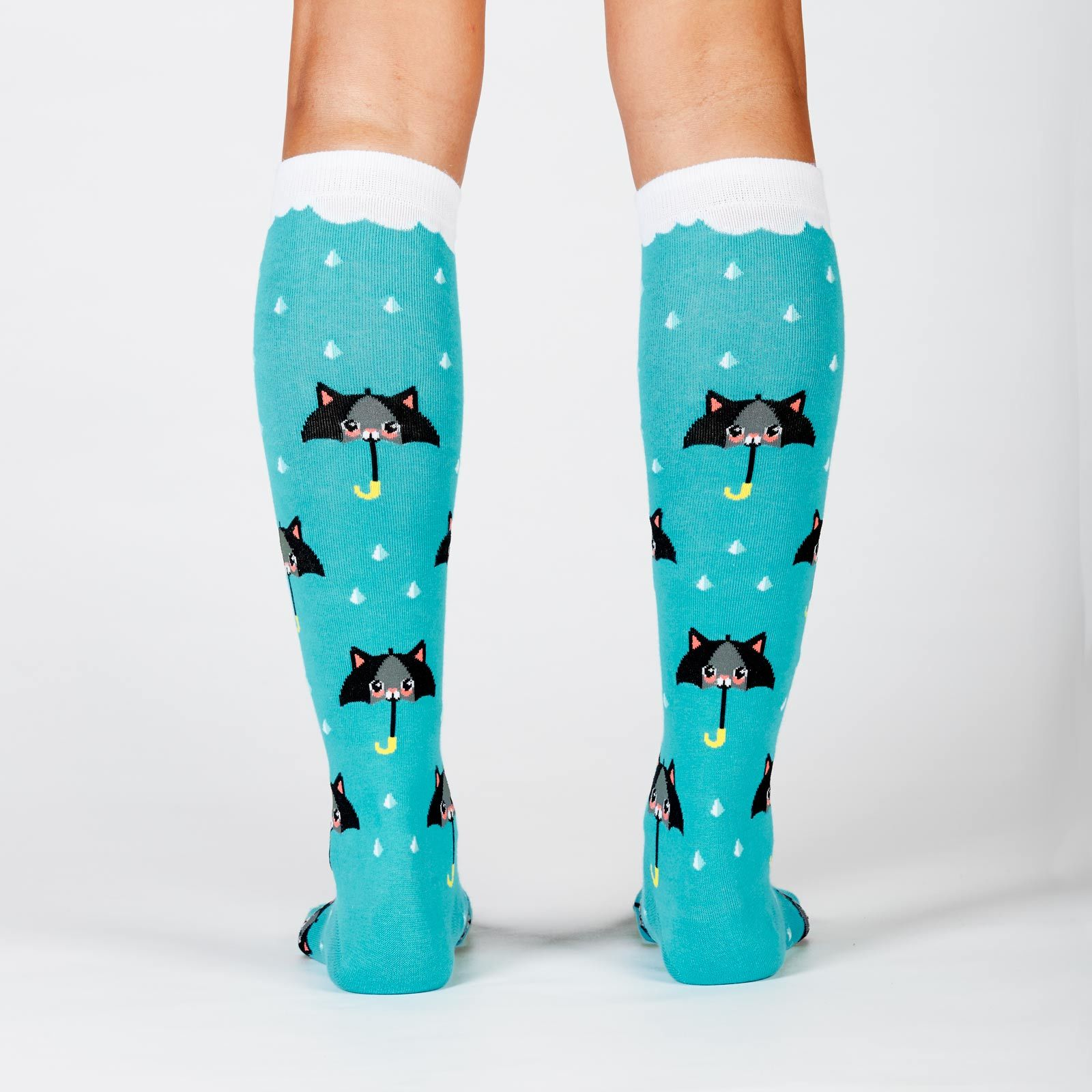 Women's - 50% Chance Of Cats Knee High Socks image
