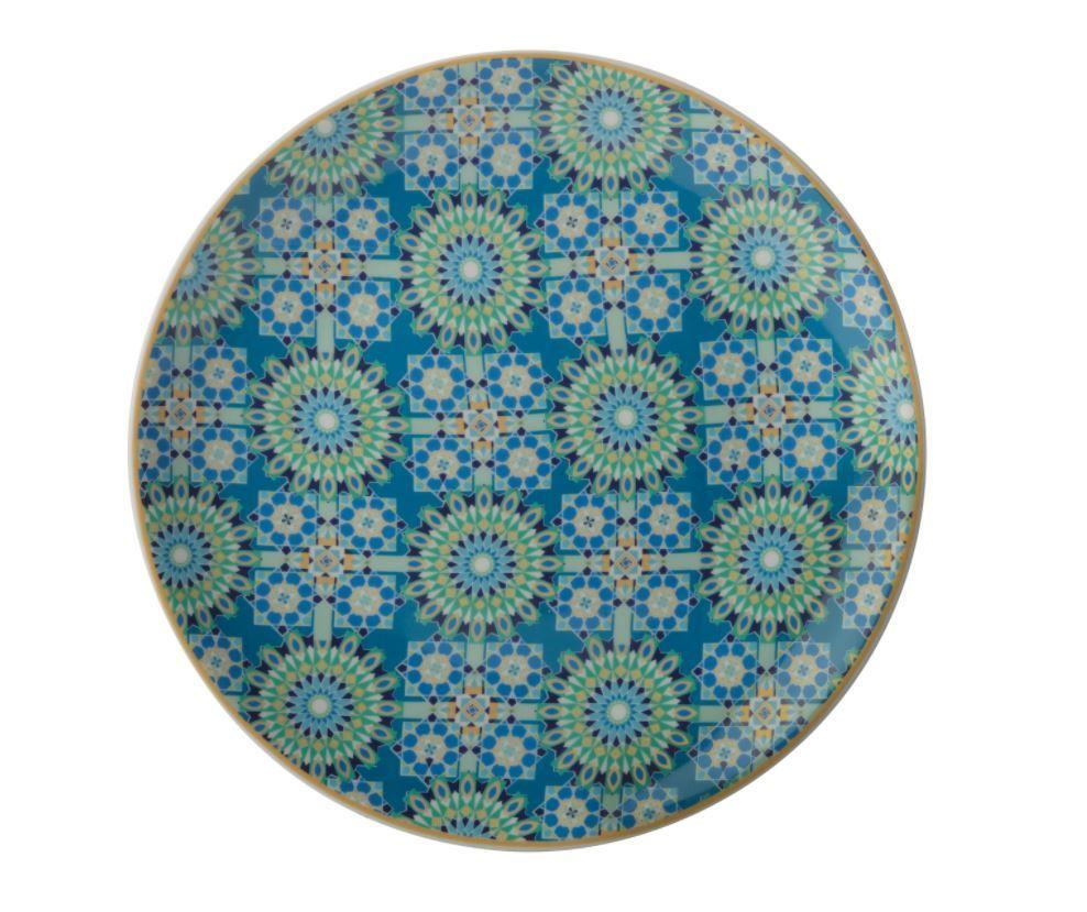 Maxwell & Williams Teas & C's Isfara Plate - Pashar Blue (20cm) image