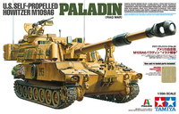 Tamiya 1/35 US Self-Propelled Howitzer - M109A6 Paladin (Iraq War) Scale Model Kit