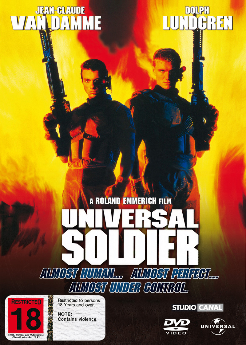 Universal Soldier on DVD image