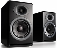 Audioengine P4 Passive Bookshelf Speakers (Pair) Satin Black