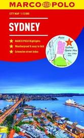 Sydney Marco Polo City Map - pocket size, easy fold, Sydney street map by Marco Polo