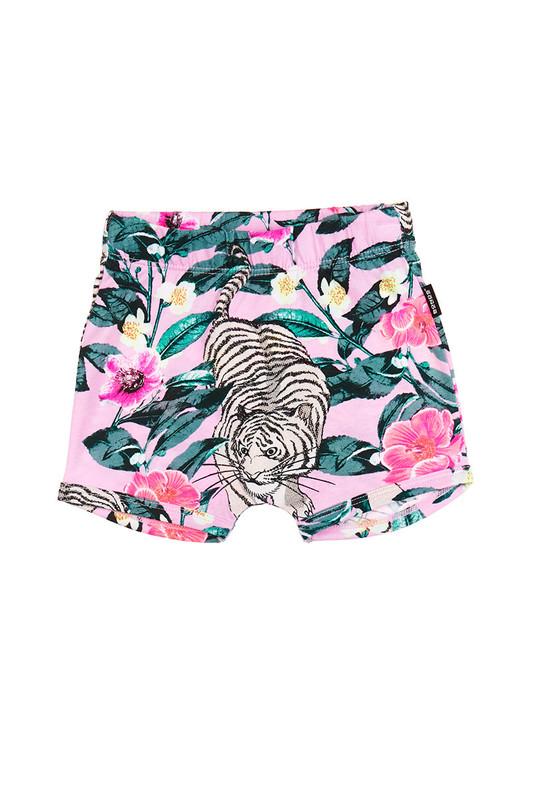 Bonds Stretchy Shorts - Unreal Tiger Pink (3-6 Months)