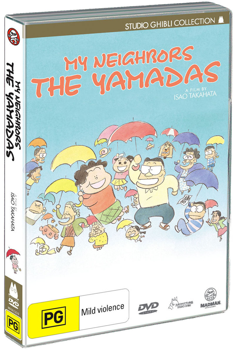 My Neighbors The Yamadas on DVD image