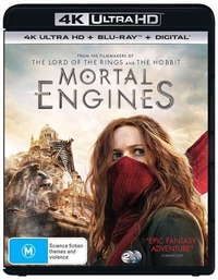 Mortal Engines on UHD Blu-ray