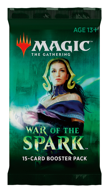 Magic The Gathering: War of the Spark Single Booster