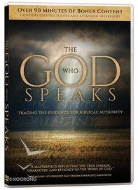 The God Who Speaks on DVD