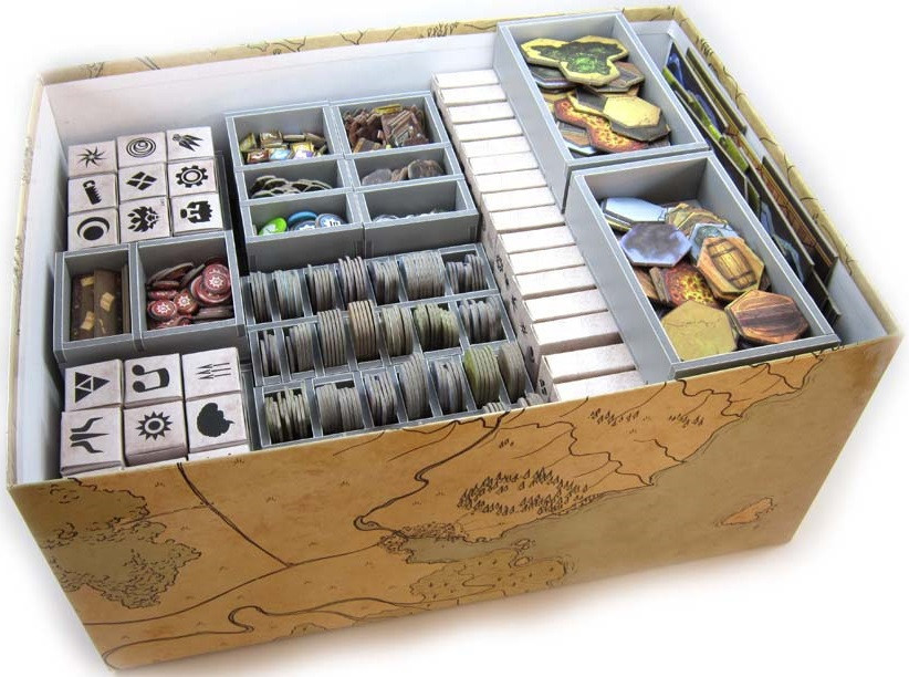 Folded Space: Game Inserts - Gloomhaven image