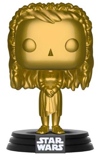 Star Wars - Princess Leia (Gold Chrome) Pop! Vinyl Figure