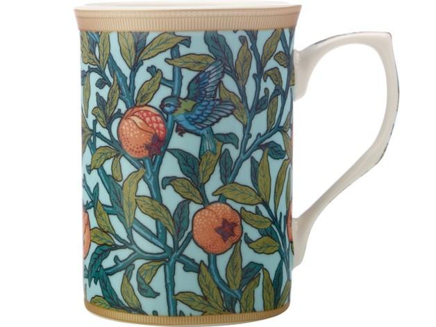 Casa Domani: William Morris Mug - Bird & Pomegranate (300ml)