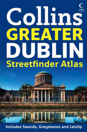 Greater Dublin Handy Streetfinder Atlas by Collins UK image
