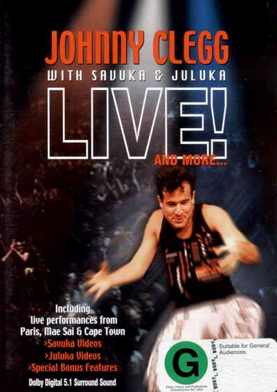 Johnny Clegg - With Savuka & Juluka: Live!  And More image