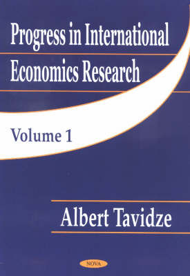 Progress in International Economics Research: v. 1 image